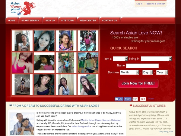 Account Asianwomenplanet.com Free