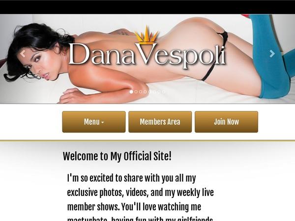 Account Dana Vespoli Gratis