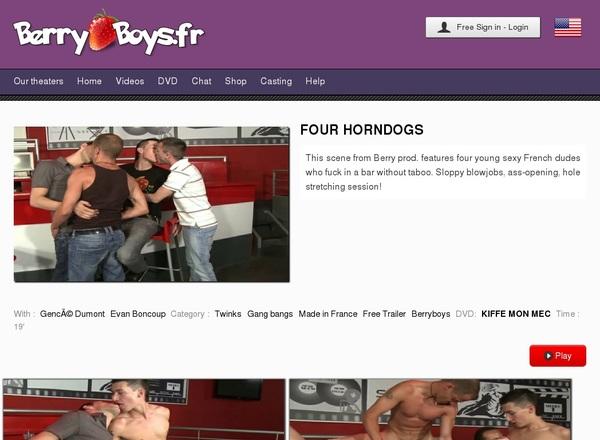 Berryboys.fr Free Members