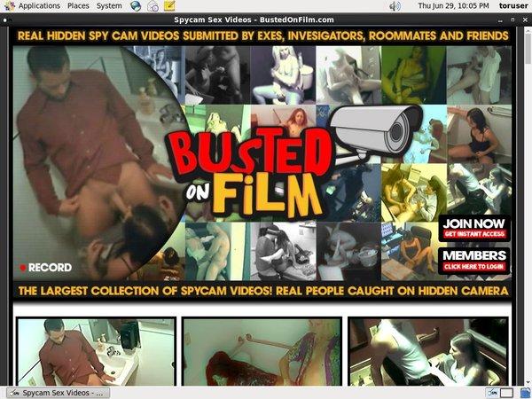 Bustedonfilm.com Galleries
