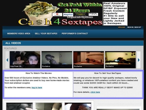 Cash 4 Sex Tapes Fotos