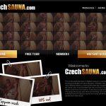 Czech Sauna Paypal Option