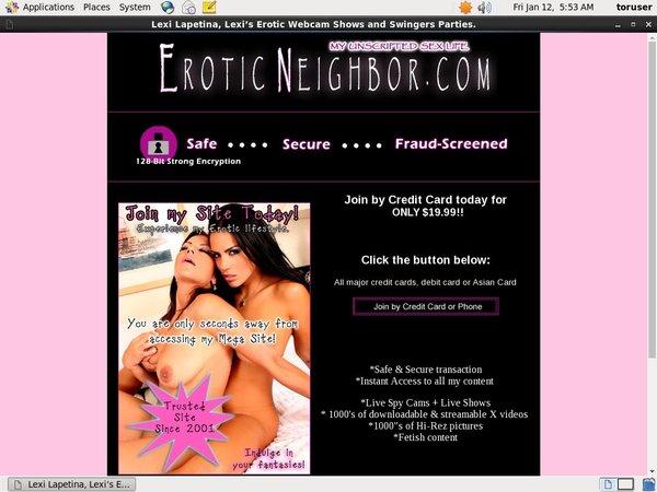 Erotic Neighbor Password Premium