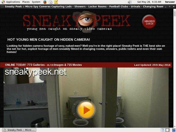 Free Sneaky Peek Trials