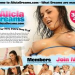 Free Video Alicia Dreams