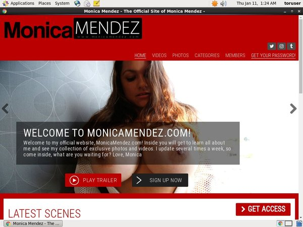 How To Get Free Monica Mendez Accounts