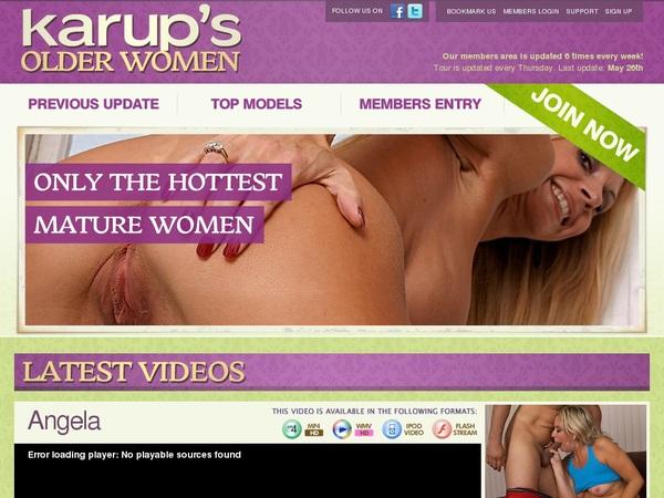 Karups OW Account Forum