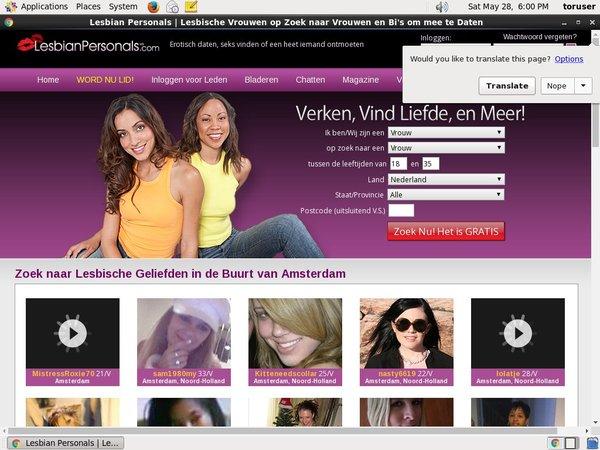 Lesbianpersonals.com Code