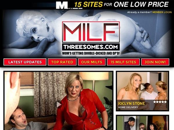 MILF Threesomes Account Passwords