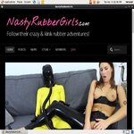 Nasty Rubber Girls Checkout Page