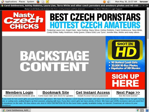Nastyczechchicks.com User And Password