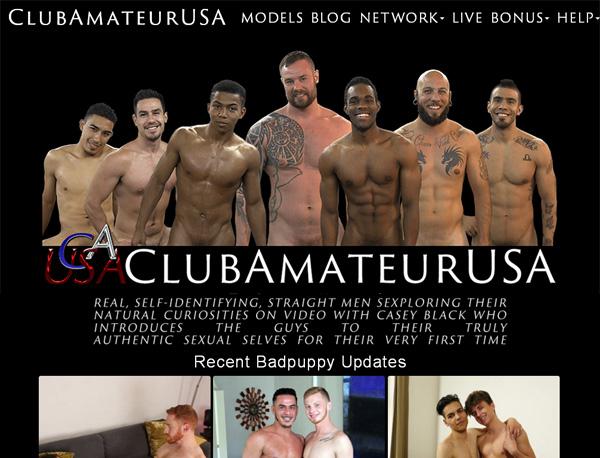 New Free Clubamateurusa.com Accounts