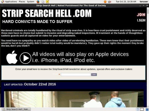 Strip Search Hell Promo Tour