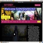 Sxysindy.modelcentro.com Join