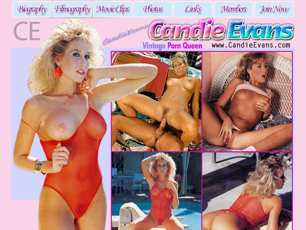 Candy Evans With Pay Pal
