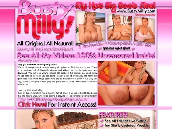 Busty Milly Mit IBAN / SEPA