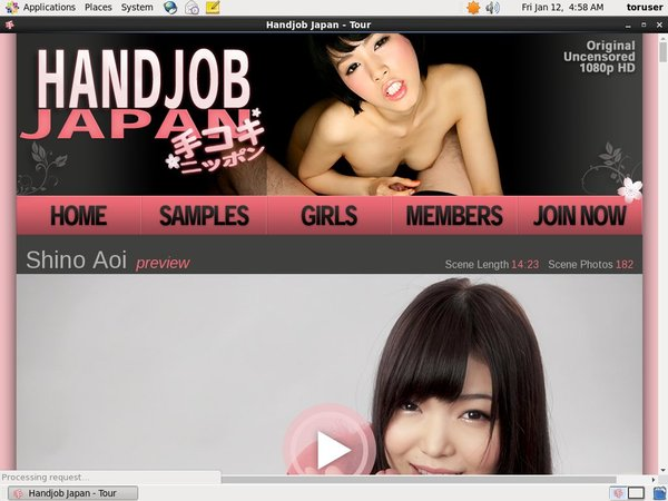 Handjob Japan Join With Phone