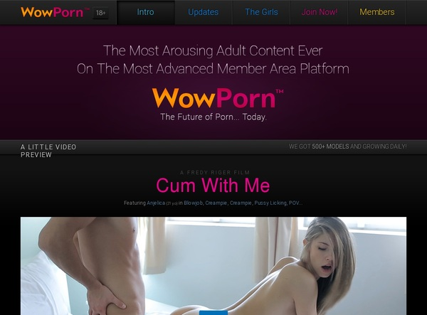 Wowporn Discount Membership