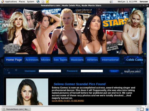 Female Stars Paypal Access