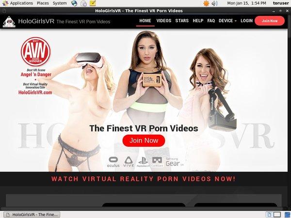 Holo Girls VR Promo Id