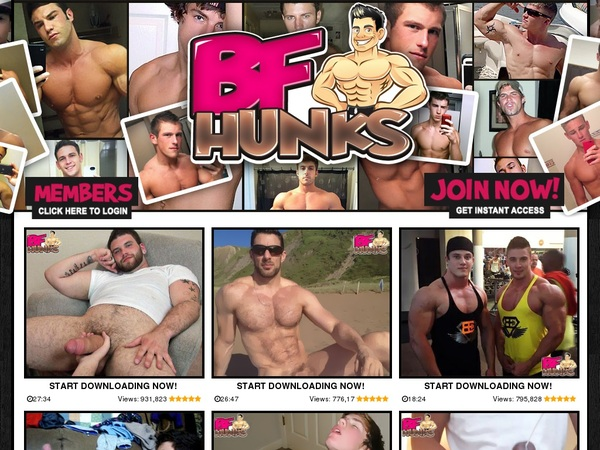 BF Hunks アカウント