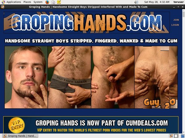Groping Hands Account Info