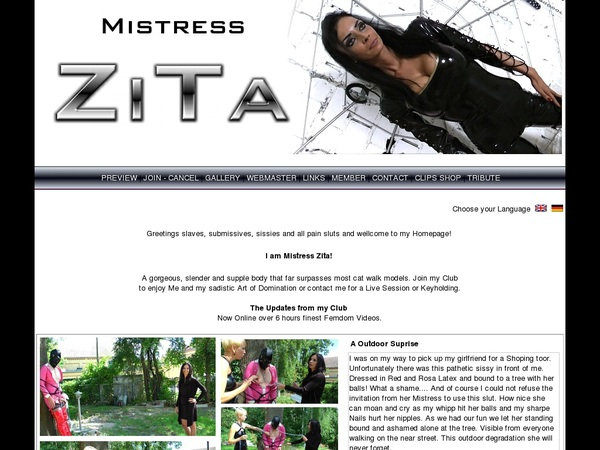 Mistress-zita.com Account Forum