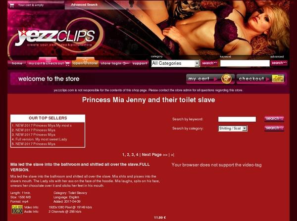 Princess Mia Jenny An Discount