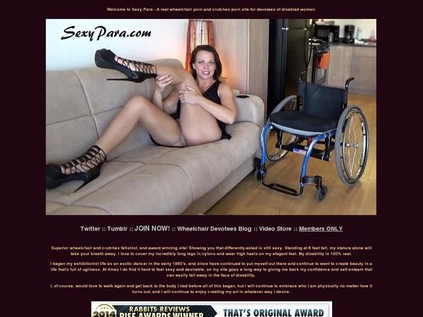 Sexy Para Sprains