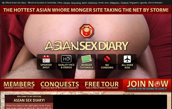 Discount Asiansexdiary.com Offer
