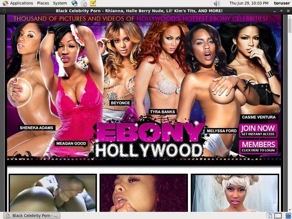 Ebony Hollywood Login Free