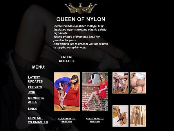 Queenofnylon.com Preview