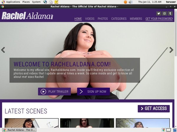 Rachelaldana Hacked Account
