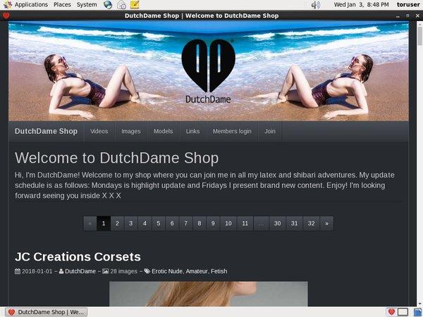 Dutch Dame Epochstats