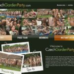 Czech Garden Party Xxx Video