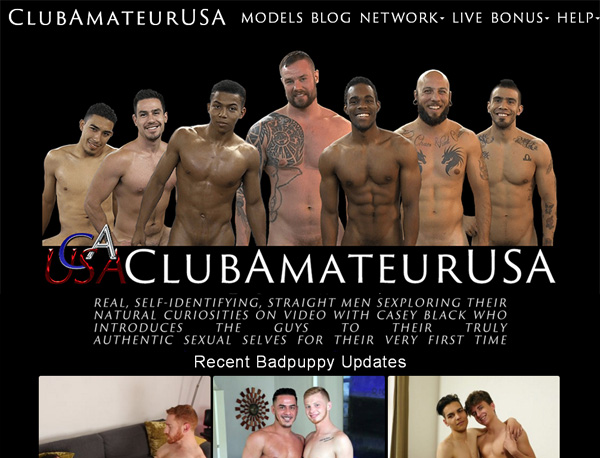 Free Club Amateur USA Account Login