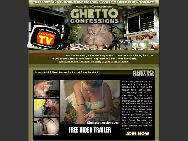 Ghettoconfessions.com Valid Password