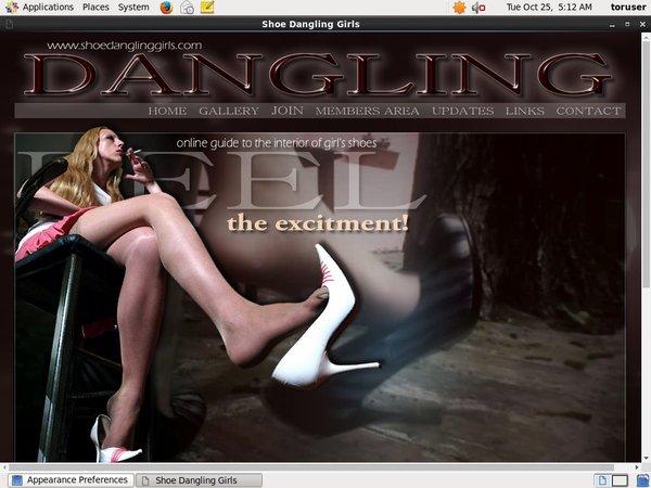 Shoedanglinggirls.com Promos