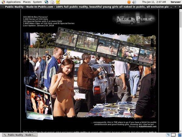 Nude-in-public.com Episodes